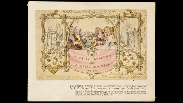 Image Source History of Christmas Cards