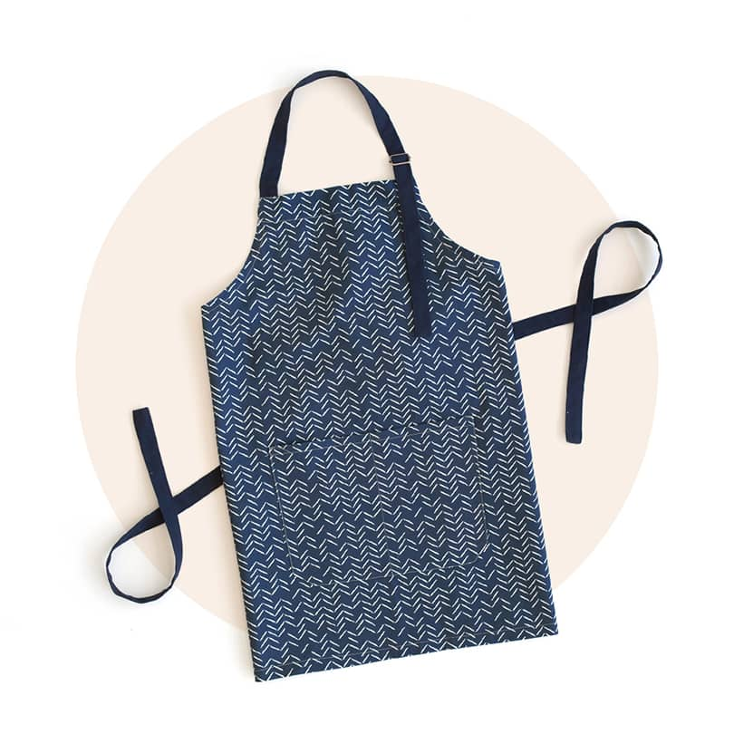 Personalizable Adult Apron & Oven Mitts