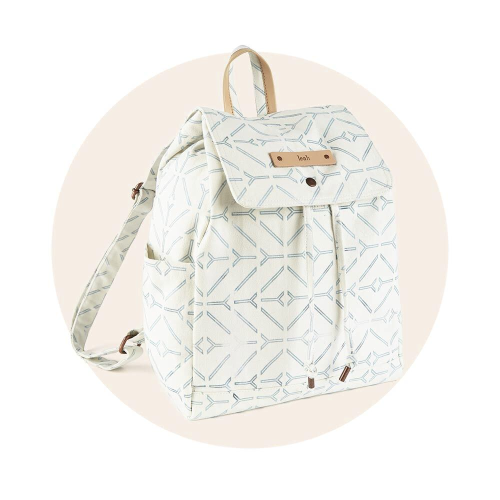 Personalizable Canvas Snap Backpacks