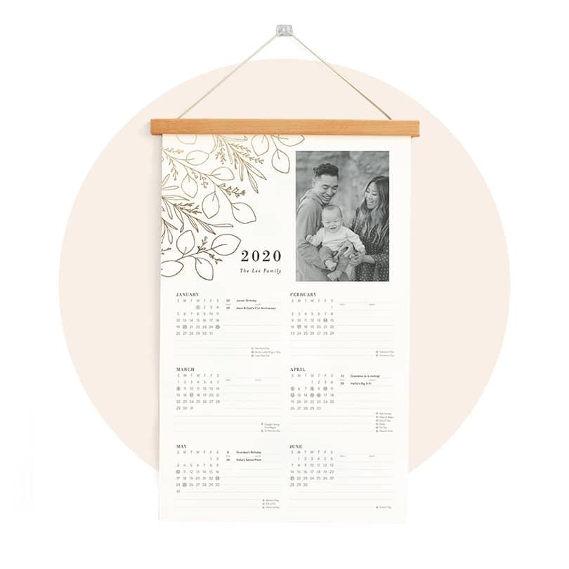 Handing Bar Calendars