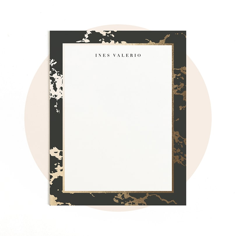 Foil-Pressed Stationery Gifts