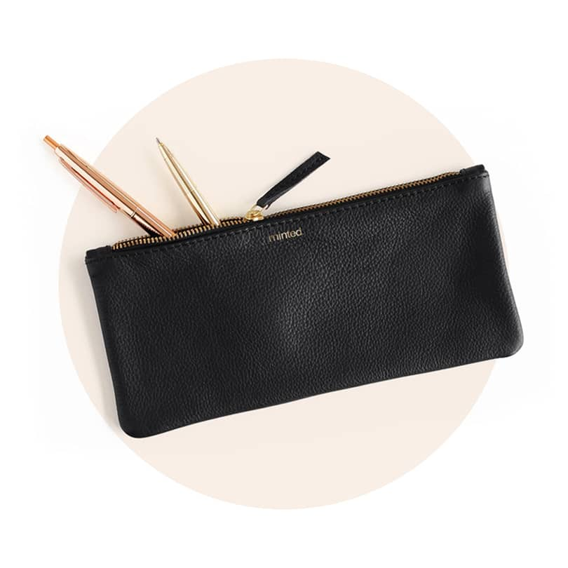 Leather Pencil Pouches