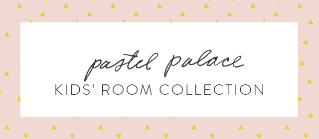 little mint pastel palace decor collection