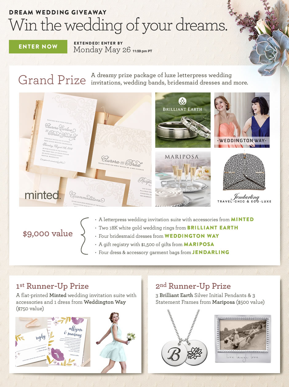 Dream Wedding Sweeps