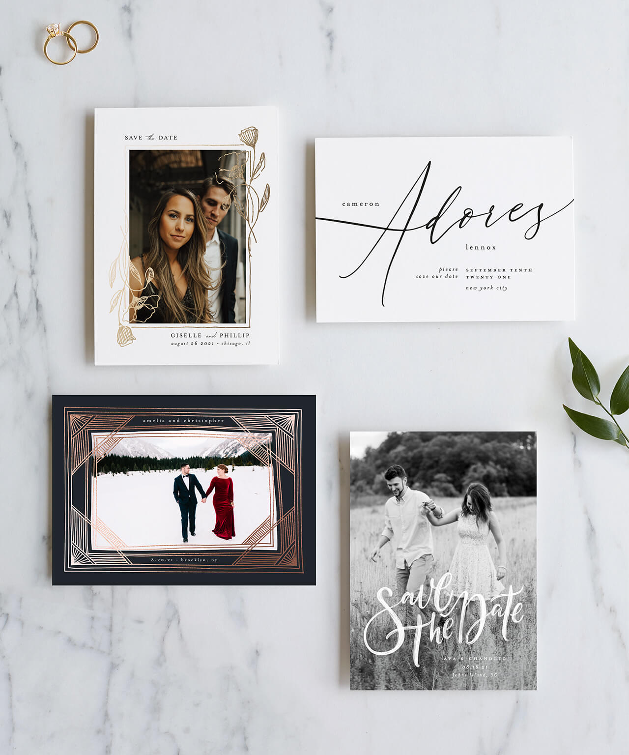 TOP 10 REASONS TO SEND SAVE THE DATES
