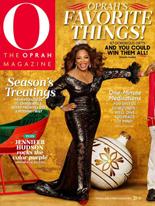 O Magazine Decemeber