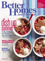 Better Homes and Gardens- July 2015
