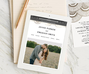 Wedding ideas minted wedding websites junglespirit Image collections