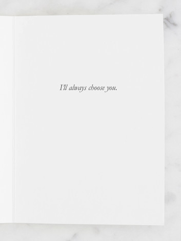 I'll Always Choose You