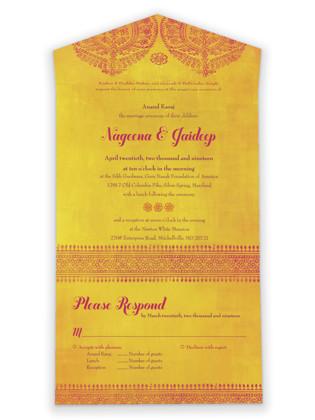 Anand Karaj All-in-One Wedding Invitations