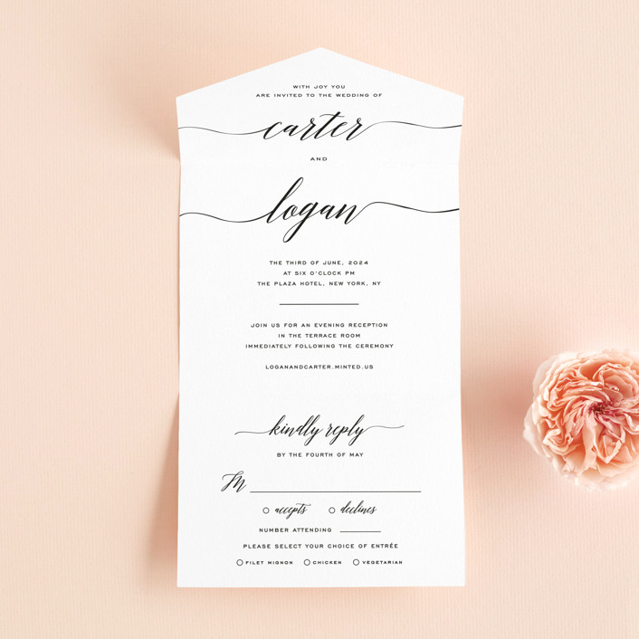 Wedding Invitations By Design Lotus