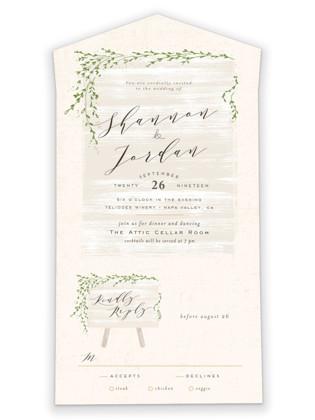 winona All-in-One Wedding Invitations