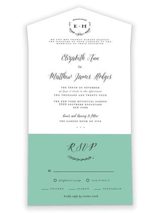 Always All-in-One Wedding Invitations