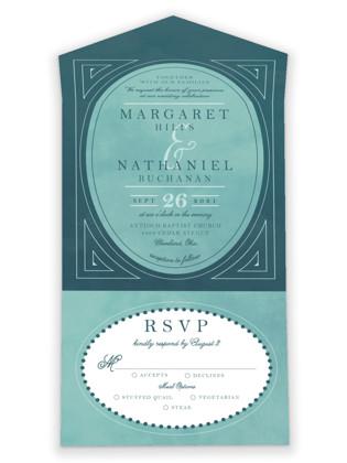 Buchanan All-in-One Wedding Invitations