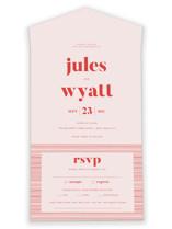 Nolita All-in-One Wedding Invitations