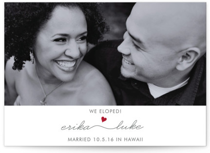 Love Connection Wedding Announcements