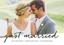 Scripted Wedding Announcements By Roxy Cervantes