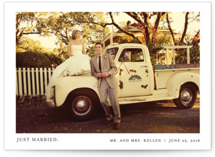 Tiny Blessings Wedding Announcements