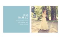 Modern Geometric Wedding Announcements By Precious Bugarin Design