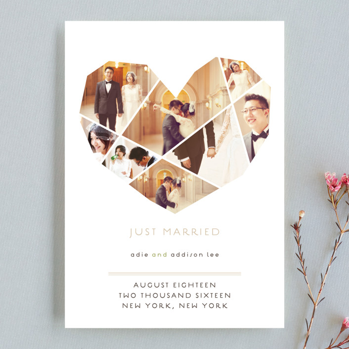 """Complete Love"" - Wedding Announcements in Camel by fatfatin."