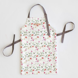This is a colorful apron by Mere Paper called Spring Wildflowers.