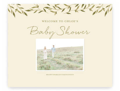Woodland Baby Large Signs