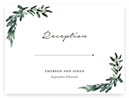 Gilded Eucalyptus Large Signs