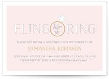 Fling Before the Ring by Leslie Ann Jones