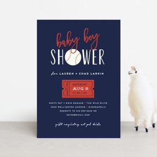 Baseball Baby Shower Postcards