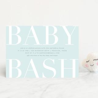 Big Bash Baby Shower Postcards