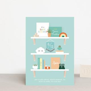 Nursery Shelves Baby Shower Postcards
