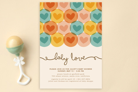 Baby Love Baby Shower Postcards