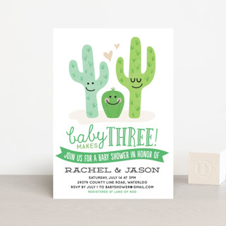 Cactus Cutie Baby Shower Postcards