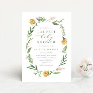 English Garden Baby Shower Postcards