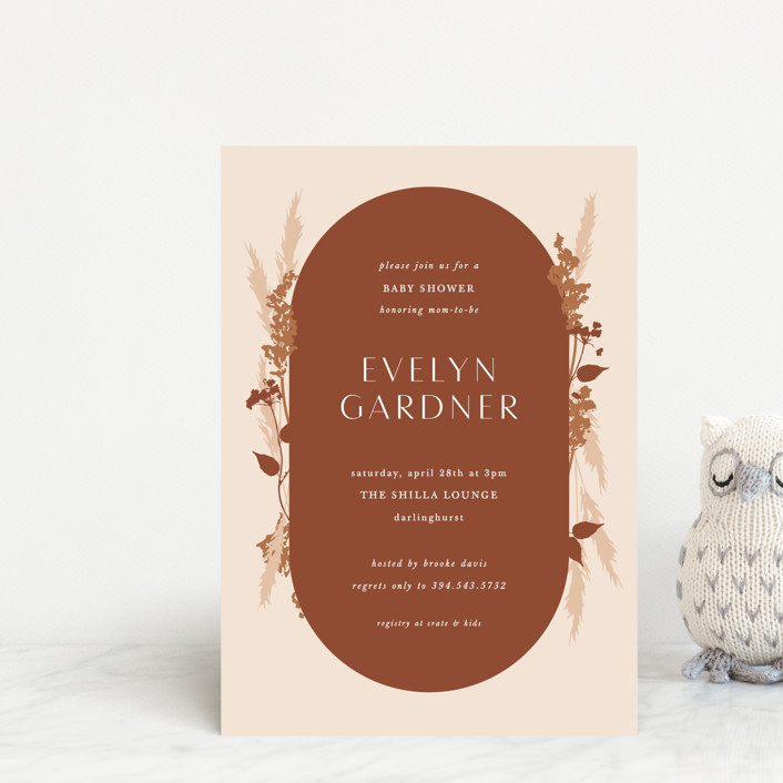 """""""harvest"""" - Baby Shower Postcards in Falla by Corinne Malesic."""