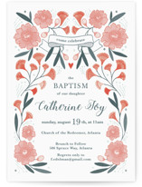 Blooming Garden Baptism by Paper Raven Co.