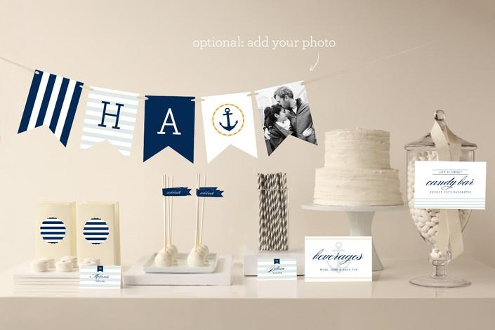 nautical party decor - Nautical Party Decorations