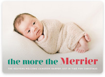 This is a green babys first christma by Liz Conley called a merry addition with standard printing on smooth signature in standard.