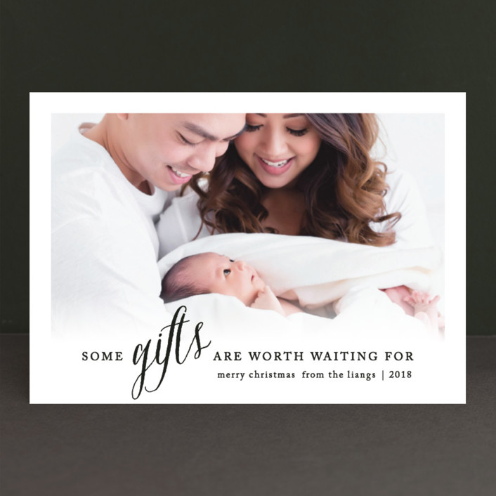 Some Gifts Holiday Birth Announcements by Ellis – Holiday Birth Announcements