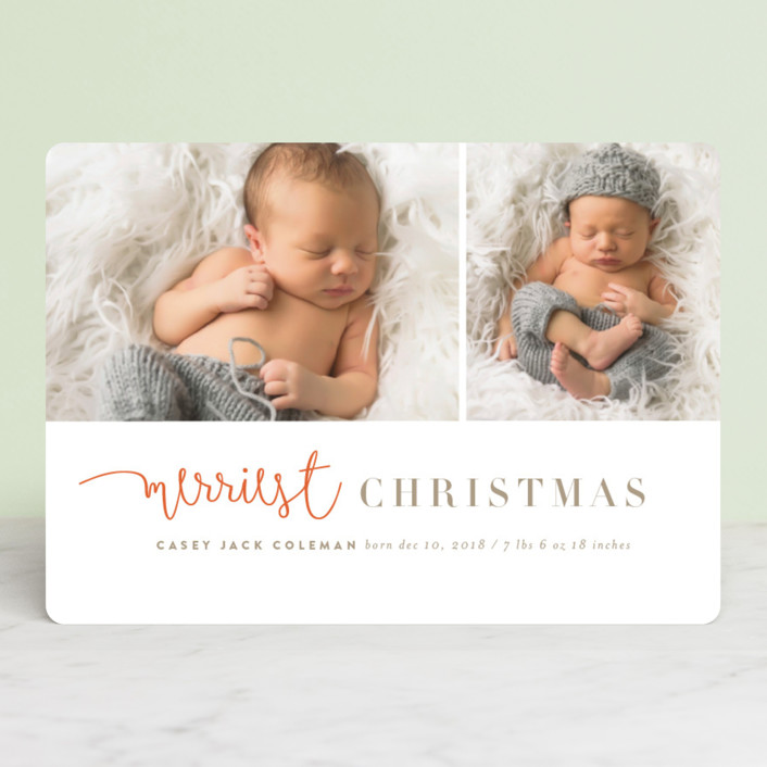 """""""tuille"""" - Holiday Birth Announcements in Mandarin by chocomocacino."""