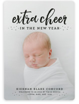 This is a black babys first christma by Lea Delaveris called Extra cheer this year with standard printing on smooth signature in standard.