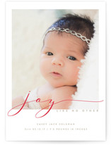 Christmas Birth Announcements Minted - Christmas birth announcement