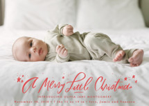 A Merry Little Holiday Birth Announcements By Julie Murray
