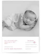 This is a red babys first christma by Emmeline Bramble called An Early Christmas Gift with standard printing on smooth signature in standard.