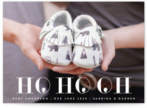 This is a white babys first christma by Melissa Casey called Ho Ho Oh with standard printing on smooth signature in standard.