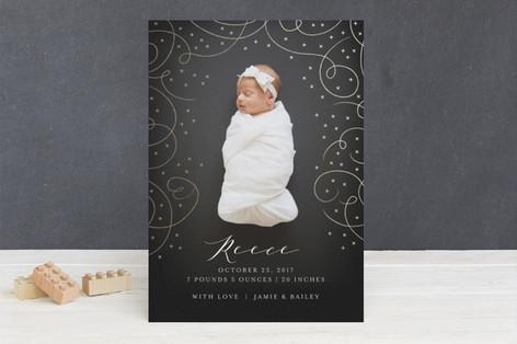 A dream come true Foil-Pressed Birth Announcements