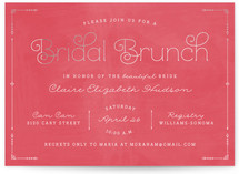 Blushing Brunch