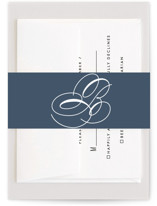This is a beige belly band by Lauren Chism called Fresh Monogram with standard printing on signature text in belly band.
