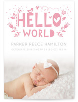 Cute Hello World by Ekaterina Romanova
