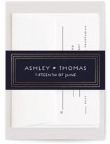 Striped Elegance by Paper Dahlia